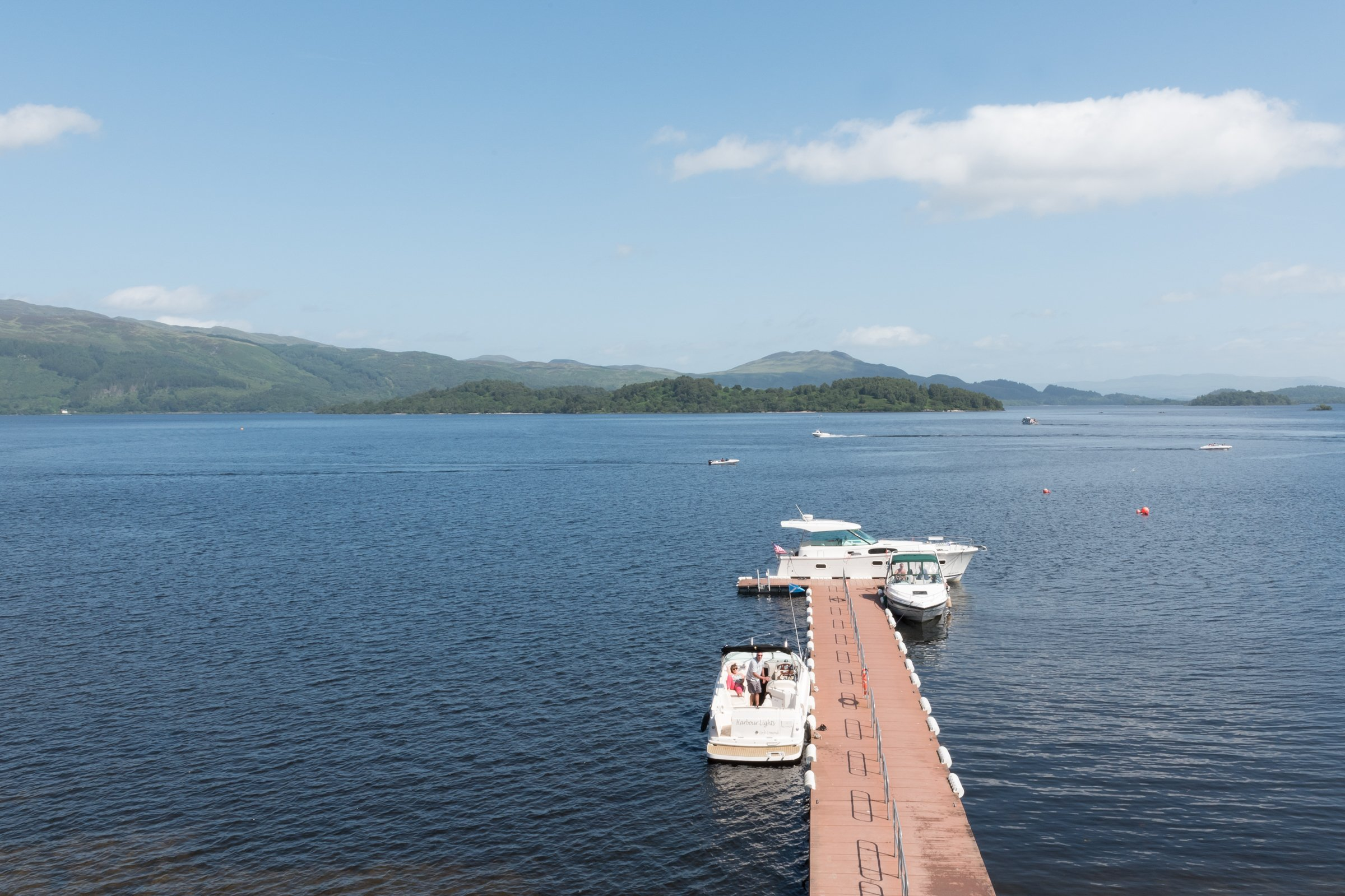 Child Friendly Travel on Loch Lomond, Scotland