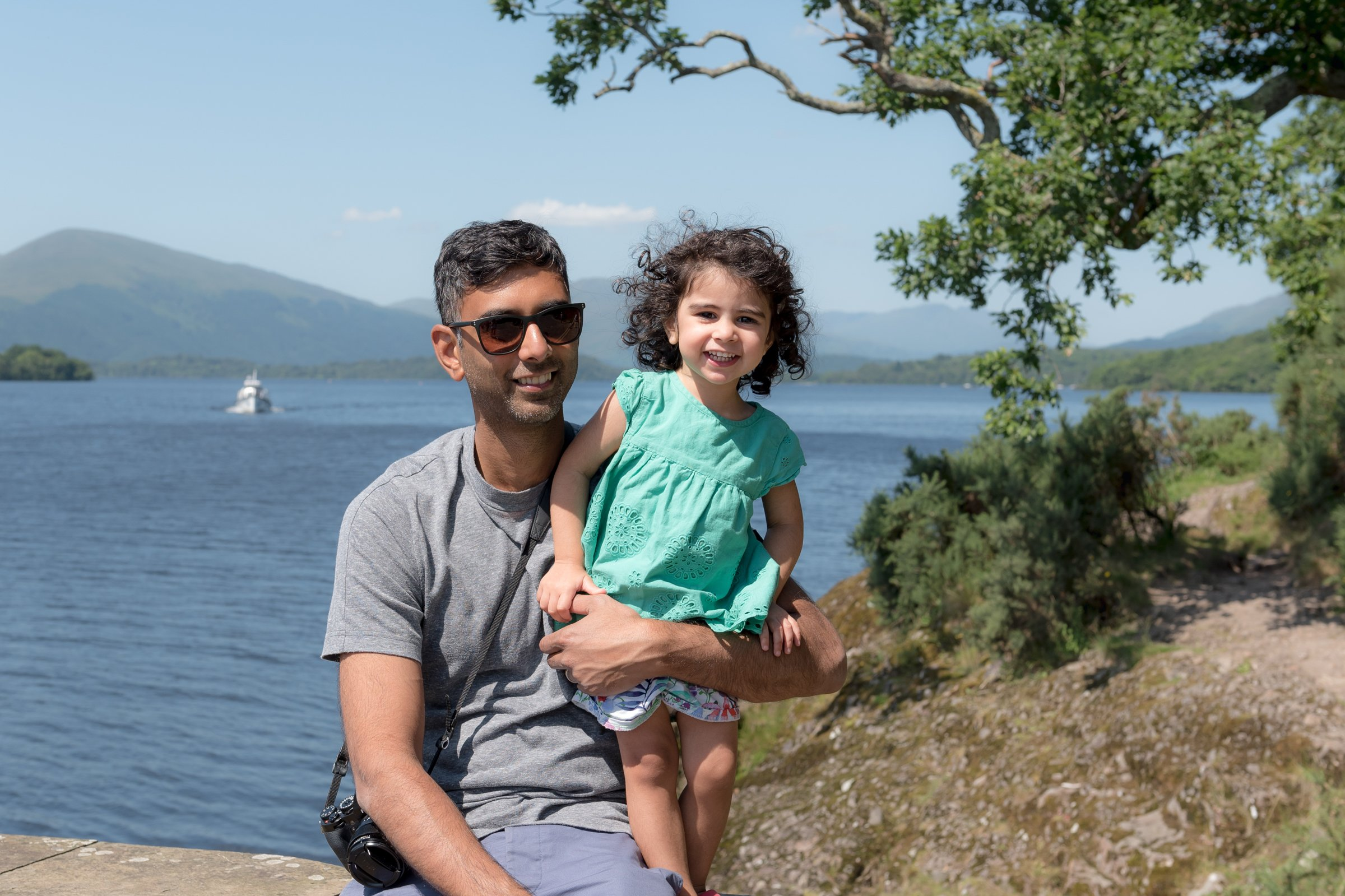 Kid Friendly Travel on Loch Lomond, Scotland